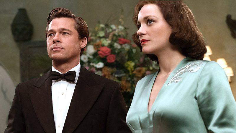 Brad Pitt & Marion Cotillard