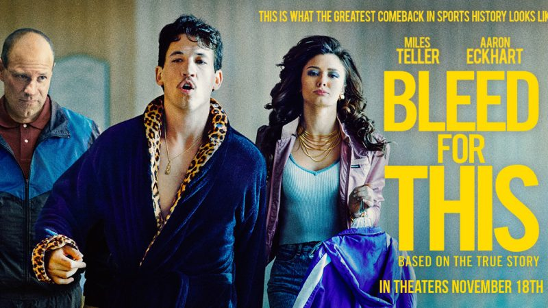 """Miles Teller in """"Bleed for This"""""""