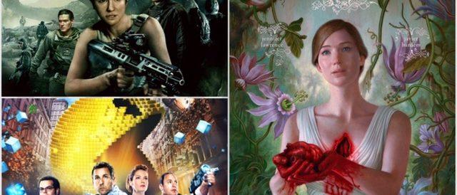 Pixels, mother!, Alien: Covenant